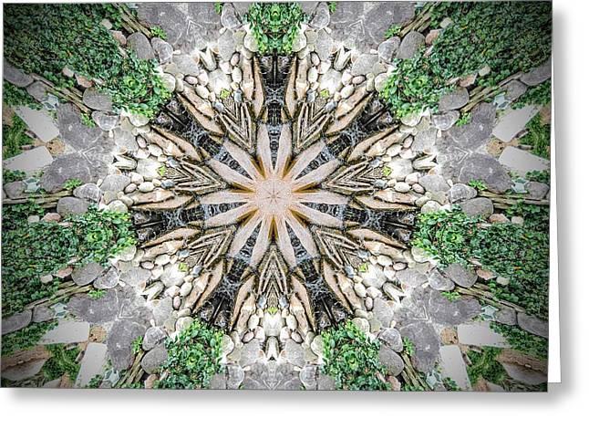 Kaleidoscope Greeting Card by Joe Oliver