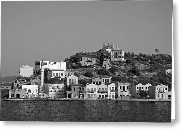Kastellorizo Island Greeting Card by George Atsametakis