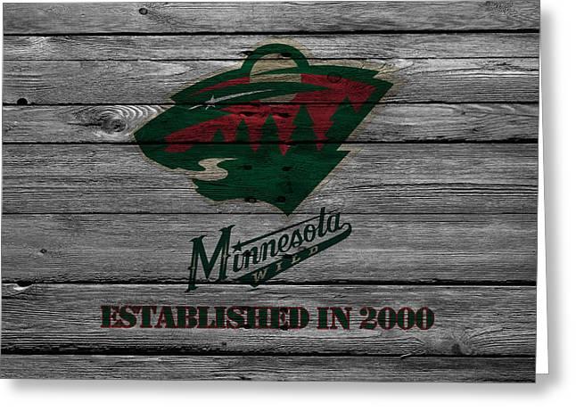 Minnesota Wild Greeting Card