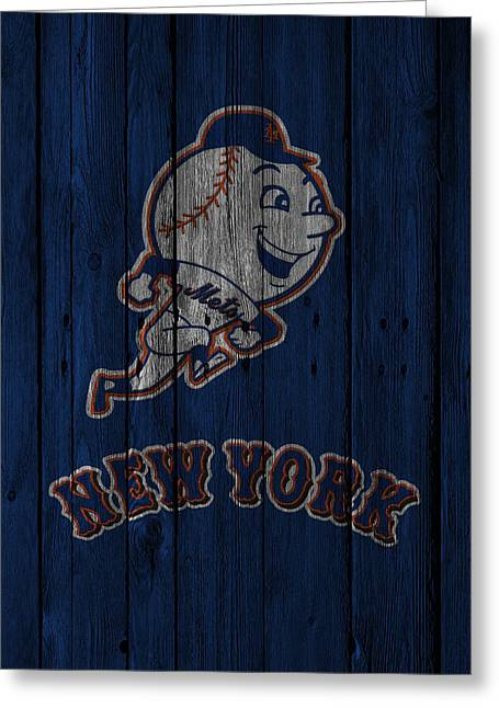 New York Mets Greeting Card