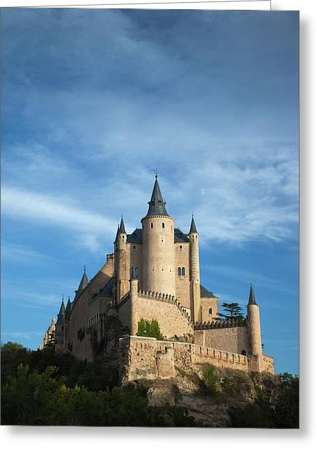 Spain, Castilla Y Leon Region, Segovia Greeting Card by Walter Bibikow
