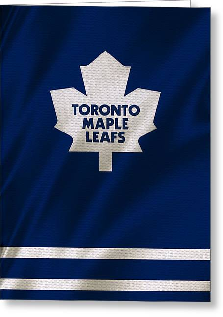 Toronto maple leafs greeting cards fine art america toronto maple leafs greeting card bookmarktalkfo Images