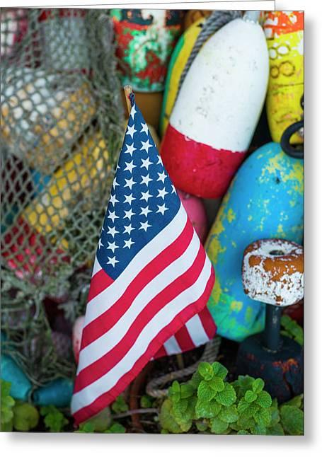 Usa, Massachusetts, Cape Ann, Rockport Greeting Card