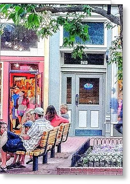 1410 Pearl Street Greeting Card by Ronnie Glover