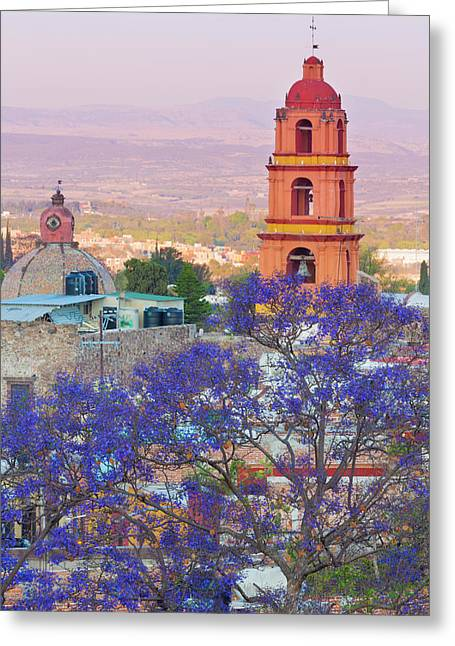 Mexico, San Miguel De Allende Greeting Card
