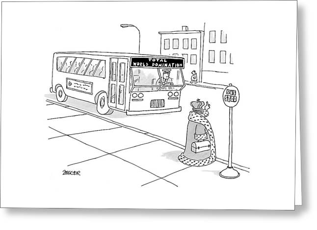 New Yorker November 6th, 2006 Greeting Card