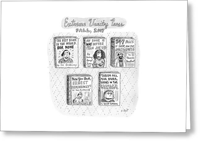 New Yorker September 24th, 2007 Greeting Card