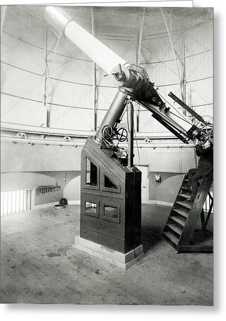 15-inch Telescope Greeting Card