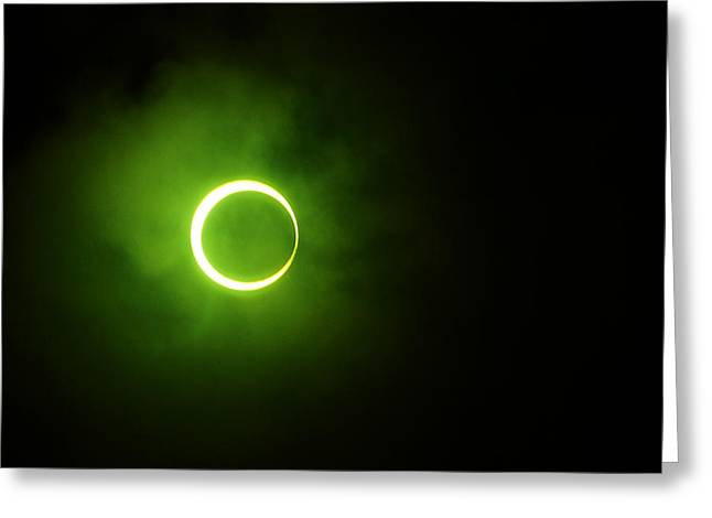 15 January 2010 Solar Eclipse Maldives Greeting Card