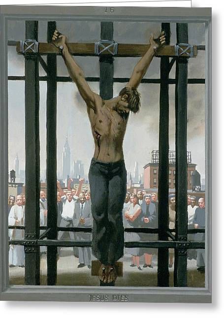 15. Jesus Dies / From The Passion Of Christ - A Gay Vision Greeting Card