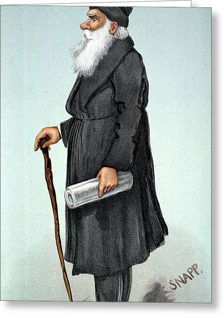 Leo Tolstoy (1828-1910) Greeting Card by Granger