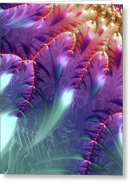 Mandelbrot Fractal Greeting Card