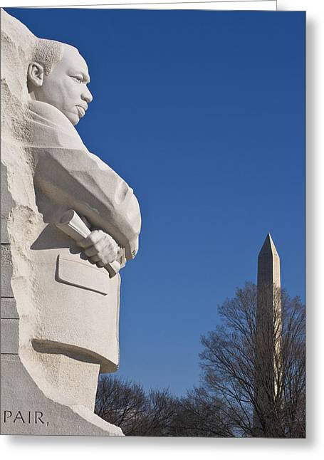 Martin Luther King Jr Memorial Greeting Card