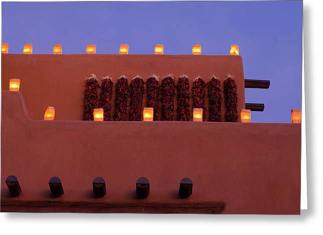 Santa Fe, New Mexico, United States Greeting Card by Julien Mcroberts