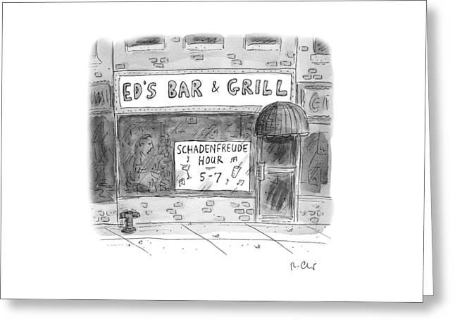 New Yorker November 14th, 2016 Greeting Card