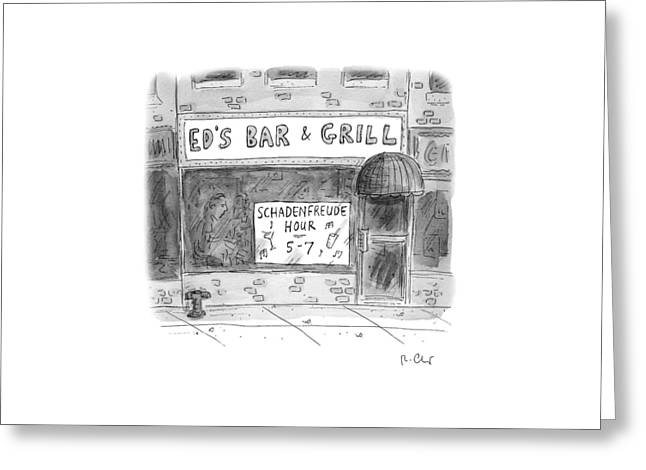 New Yorker November 14th, 2016 Greeting Card by Roz Chast
