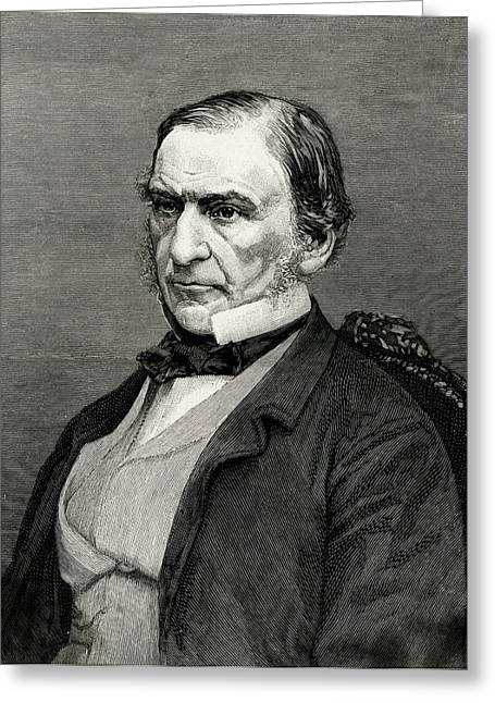 William Ewart Gladstone  British Greeting Card by Mary Evans Picture Library