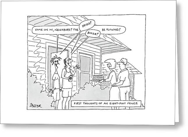 New Yorker May 28th, 2007 Greeting Card
