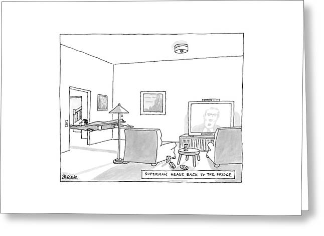 New Yorker August 20th, 2007 Greeting Card by Jack Ziegler