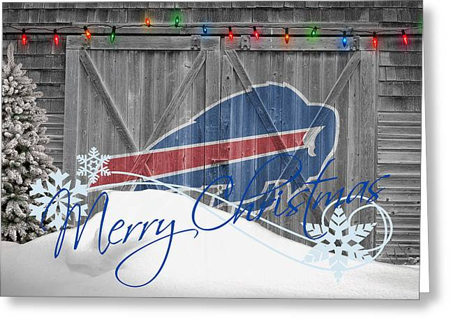 Buffalo Bills Greeting Card