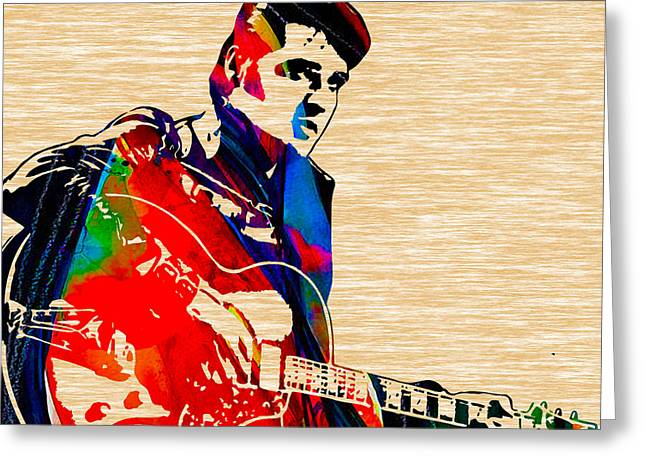 Elvis Presley Collection Greeting Card