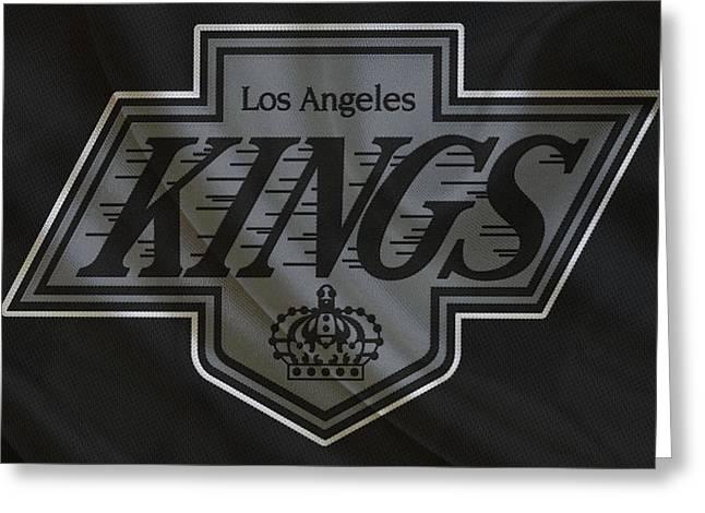 Los Angeles Kings Greeting Card by Joe Hamilton
