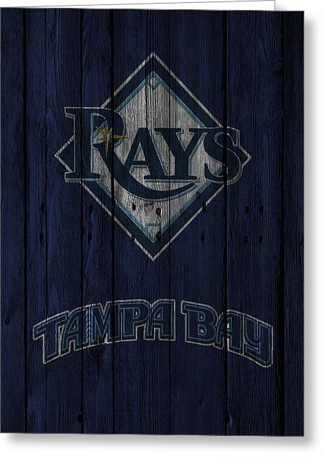 Tampa Bay Rays Greeting Card