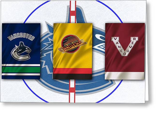 Vancouver Canucks Greeting Card