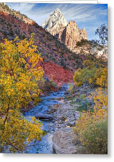 Zion National Park Utah Greeting Card