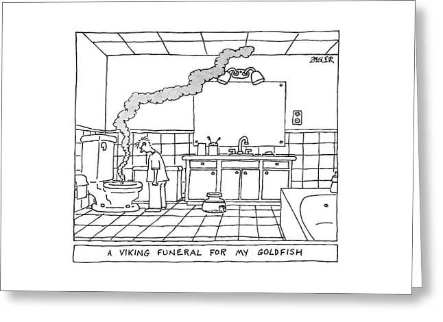 New Yorker May 19th, 2008 Greeting Card