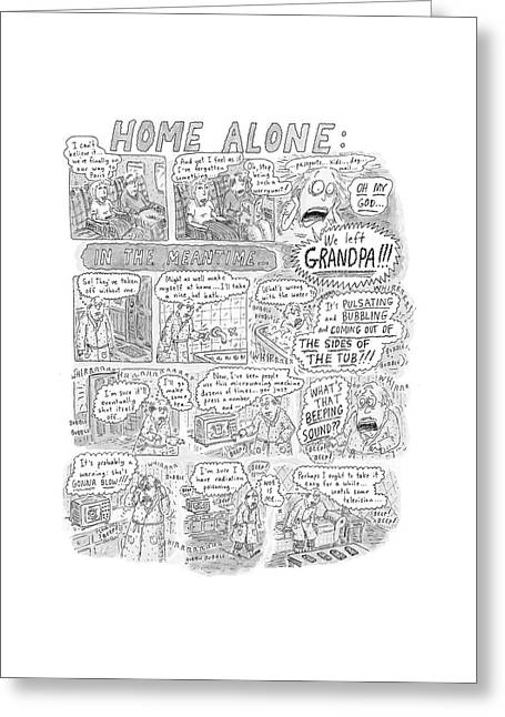 New Yorker December 17th, 2001 Greeting Card