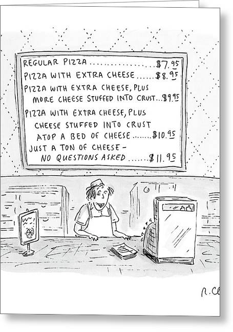 New Yorker August 14th, 2000 Greeting Card by Roz Chast