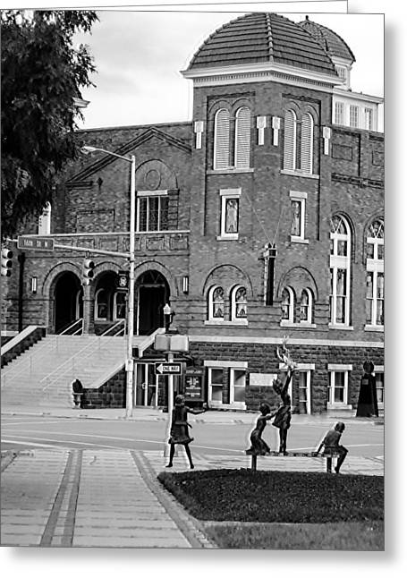 16th Street Baptist Church -2 Greeting Card by Tracy Brock