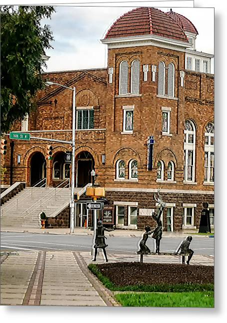 16th Street Baptist Church Greeting Card by Tracy Brock