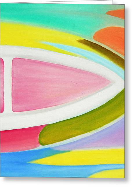171  '34 Pastels' Greeting Card by Gregory Otvos