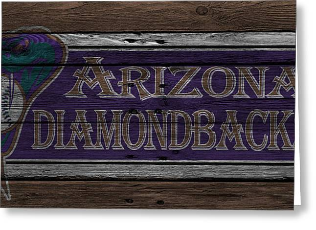Arizona Diamondbacks Greeting Card