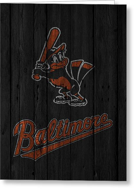 Baltimore Orioles Greeting Card