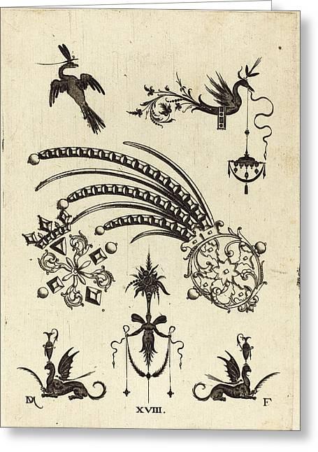 Daniel Mignot German, Active 1593-1596 Greeting Card