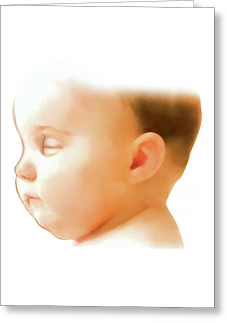 Postpartum Gestational Age Assessment Greeting Card by Asklepios Medical Atlas