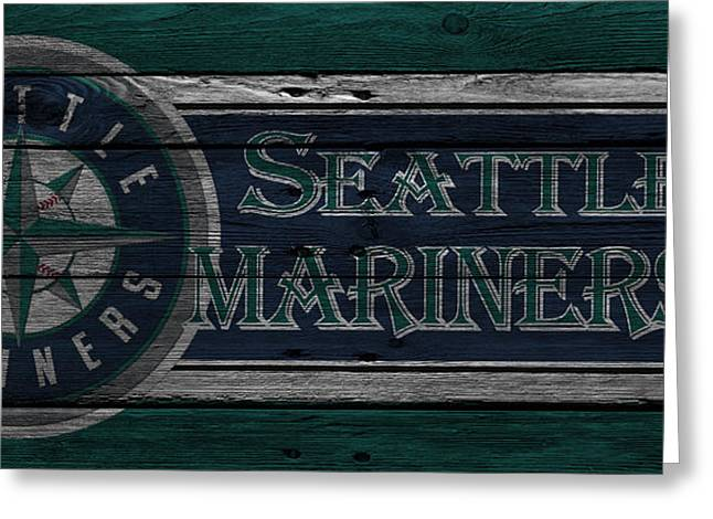 Seattle Mariners Greeting Card