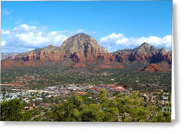 Sedona Arizona Greeting Card by Gregory Dyer