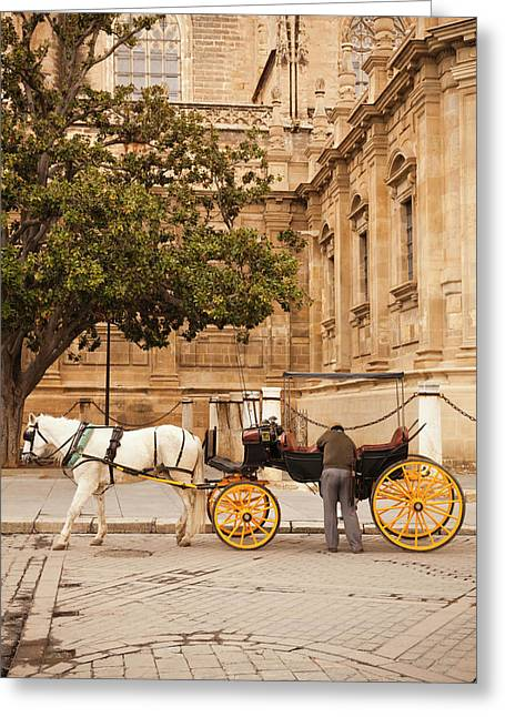 Spain, Andalucia Region, Seville Greeting Card