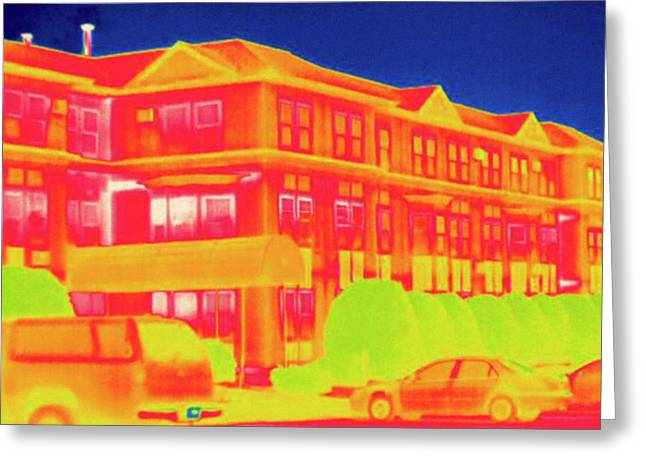 Thermogram Greeting Card
