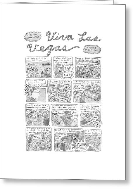 New Yorker November 17th, 2003 Greeting Card by Roz Chast