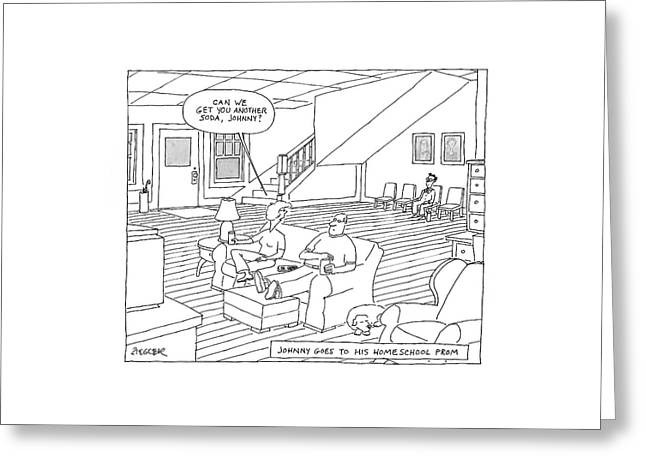 New Yorker May 26th, 2008 Greeting Card by Jack Ziegler
