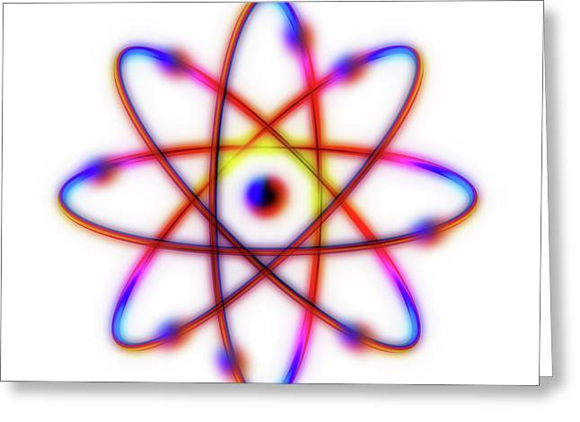 Atomic Structure Greeting Card