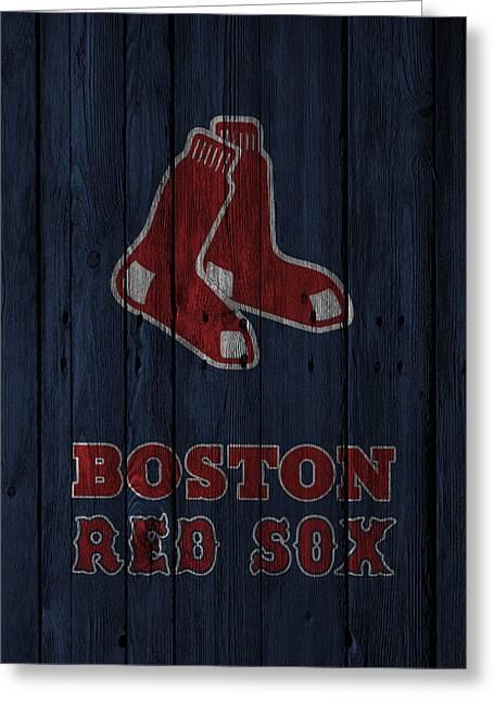 Boston Red Sox Greeting Card