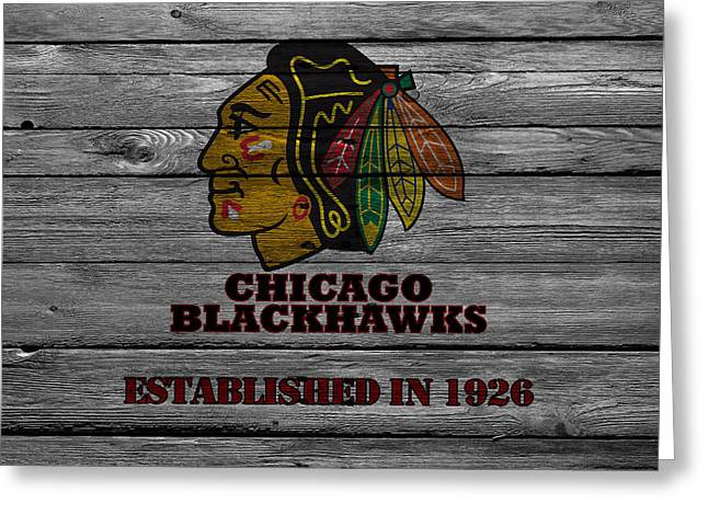 Chicago Blackhawks Greeting Card
