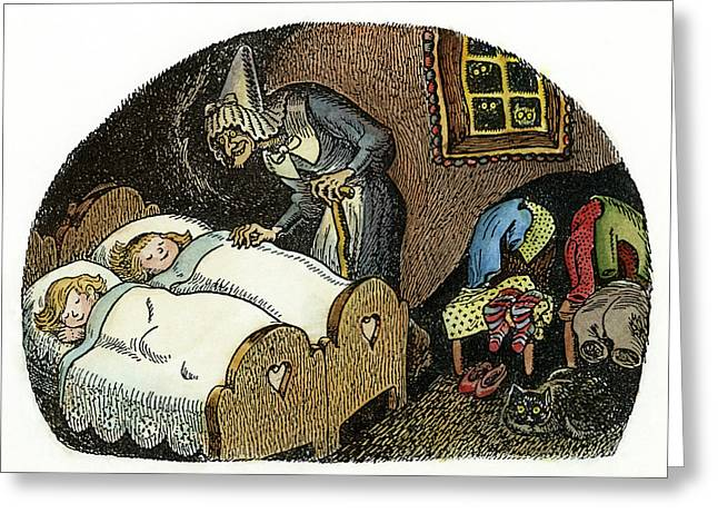 Grimm Hansel And Gretel Greeting Card by Granger