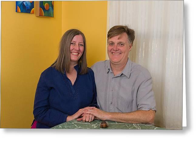 Kathy And Allan Greeting Card
